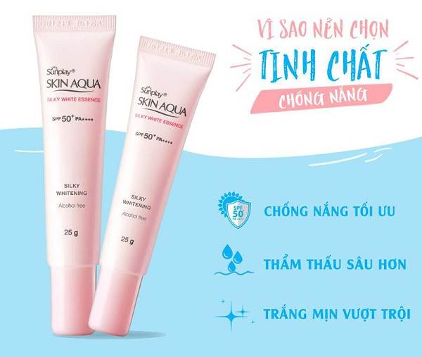 Sunplay Skin Aqua Silky White Essence