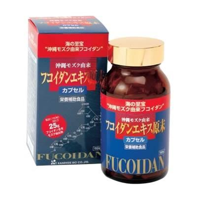 8 viên uống Fucoidan tốt nhất