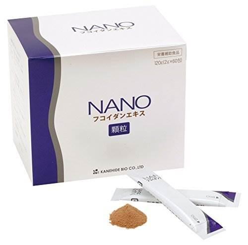 NANO Fucoidan Nhật Bản hộp 60 gói
