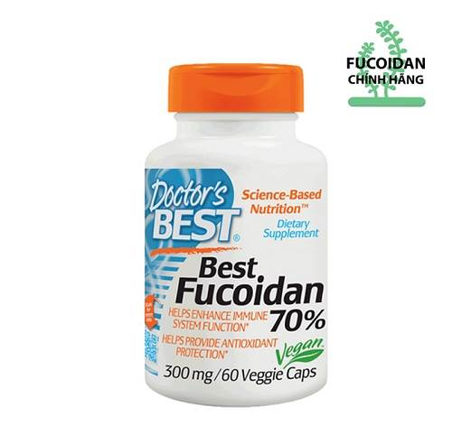 Best Fucoidan 70% 300mg