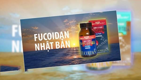 Fucoidan Nhật Bản màu đỏ