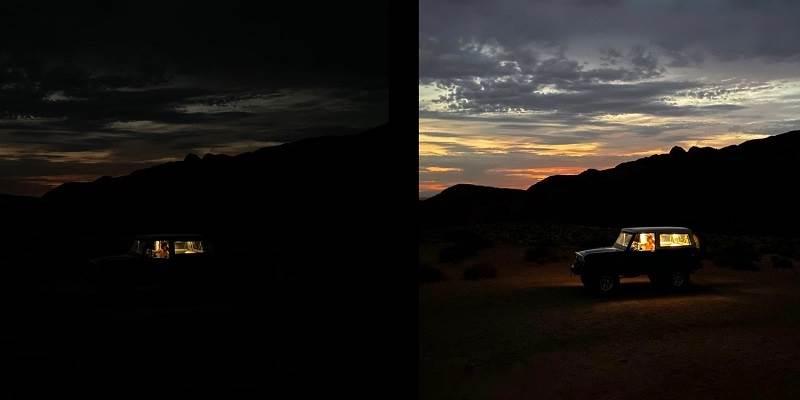 Ảnh chụp đêm của iPhone 11 Pro Max