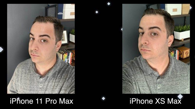 Ảnh Selfie giữ iphone 11 pro max vs iphone xs max