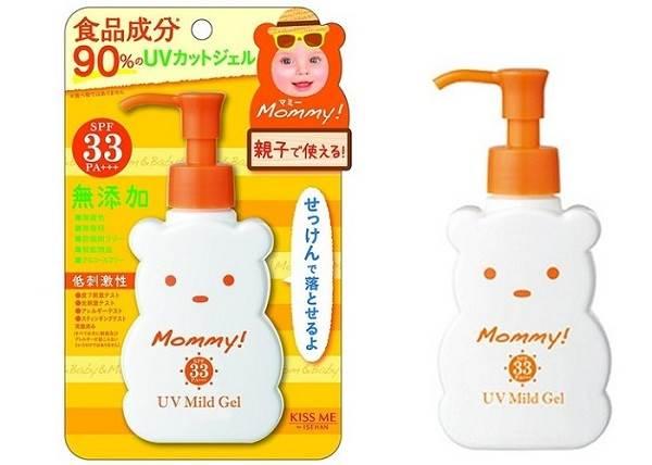 Kem chống nắng Mommy UV Mild Gel cho trẻ em