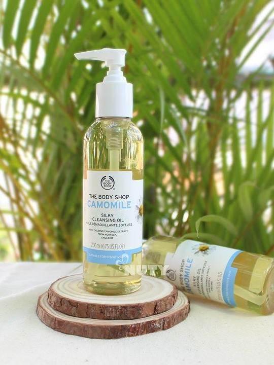 The Body Shop Camomile Cleansing Oil –tẩy trang dành cho da dầu