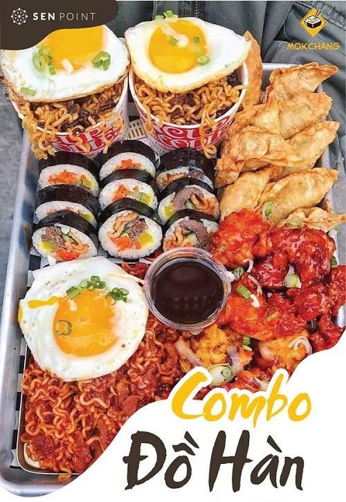top 12 quán ăn  Hàn Quốc