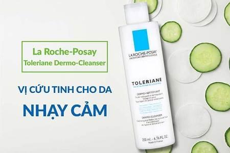 Sữa Rửa Mặt tốt nhất La Roche Posay Toleriane Dermo Cleanser