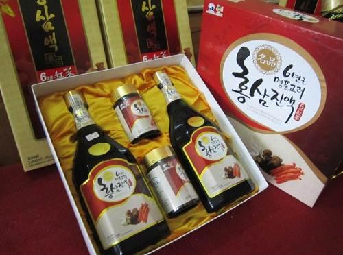 Tinh chất hồng sâm nấm thượng hoàng Hàn Quốc