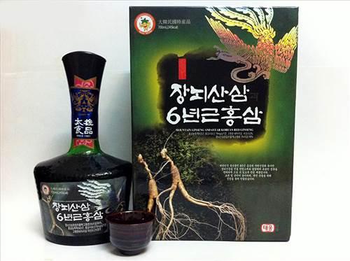 tinh chất hồng sâm núi 6 tuổi Hàn Quốc