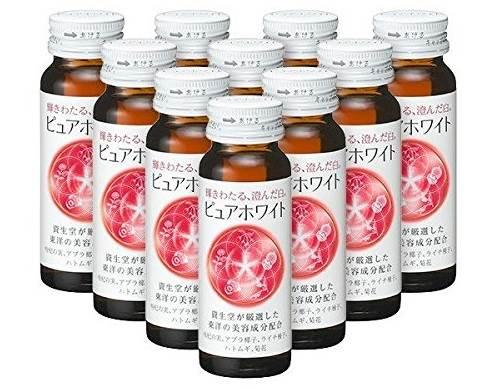 Nước làm trắng da collagen Shiseido Pure white