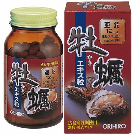 Tinh chất hàu tươi Orihiro 120 viên