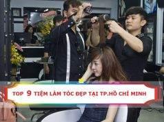 Top 9 tiệm làm tóc đẹp tại Hồ Chí Minh