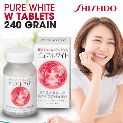 Viên uống Pure White làm trắng da, ngăn ngừa lão hóa