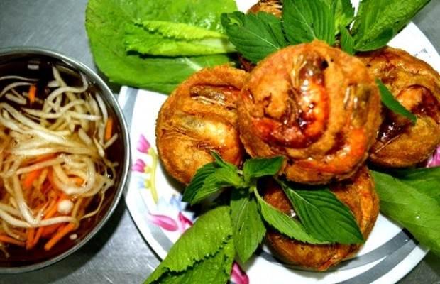 Bánh cóng - món ăn đặc sản Sóc Trăng