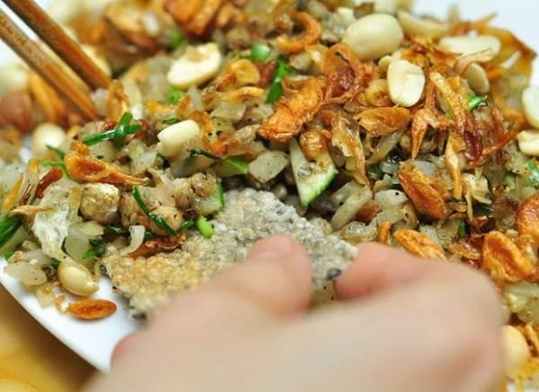 Chắt chắt - món ăn đặc sản Trà Vinh