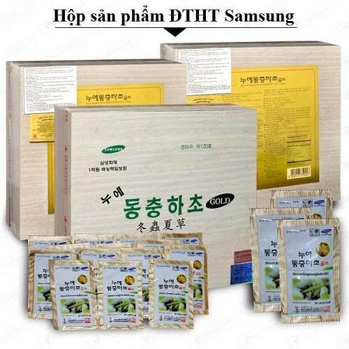 Hộp 60 gói đông trùng hạ thảo Samsung Bio