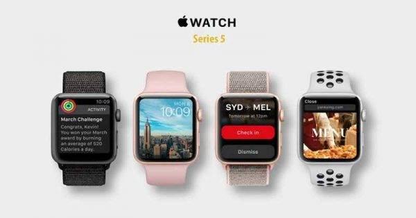 Tính năng bảo vệ sức khỏe người dùng ở Apple Watch series 5