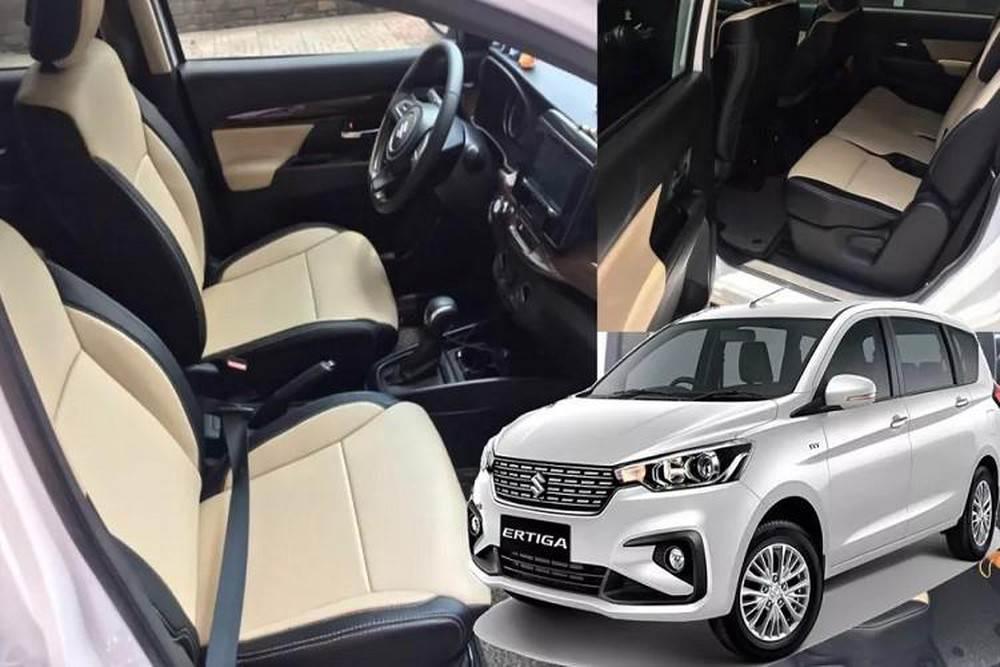 Ghế ngồi Suzuki Ertiga 2019