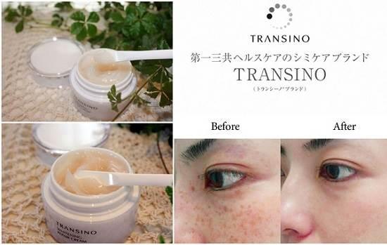 Kem dưỡng da ban đêm Transino Whitening Repair Cream của Nhật