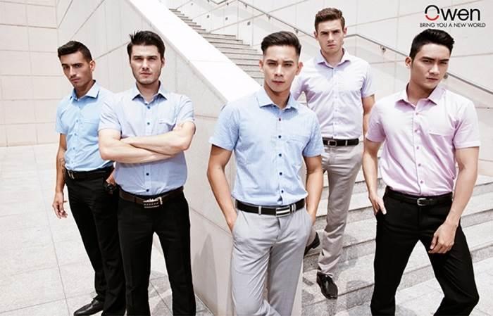 Top 9 thương hiệu áo sơ mi nam nổi tiếng nhất Việt Nam