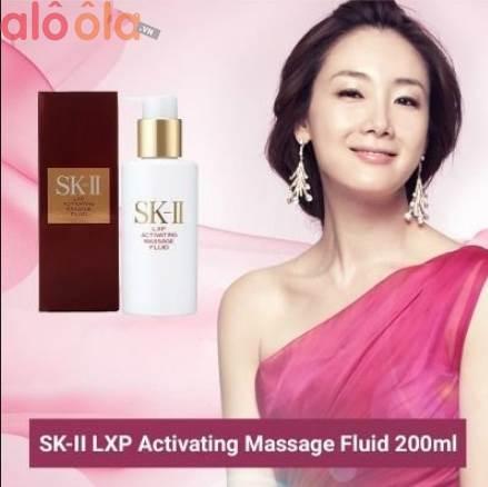 Sk ii lxp activating massage fluid chăm sóc da toàn diện