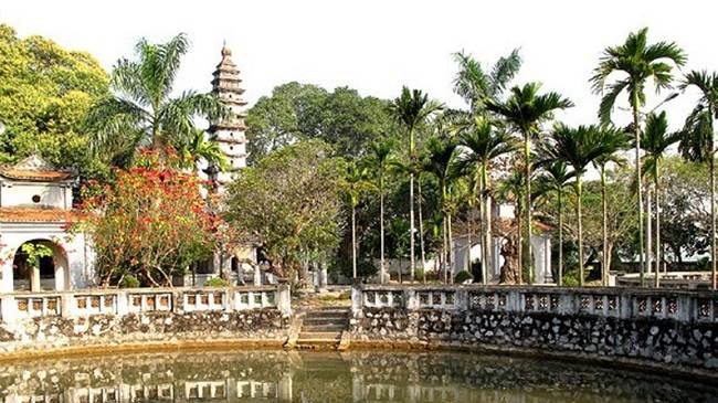 di tích lịch sử việt nam chùa Phổ Minh