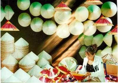 Top 10 làng nghề truyền thống- Làng nón Tây Hồ( Phú Vang)