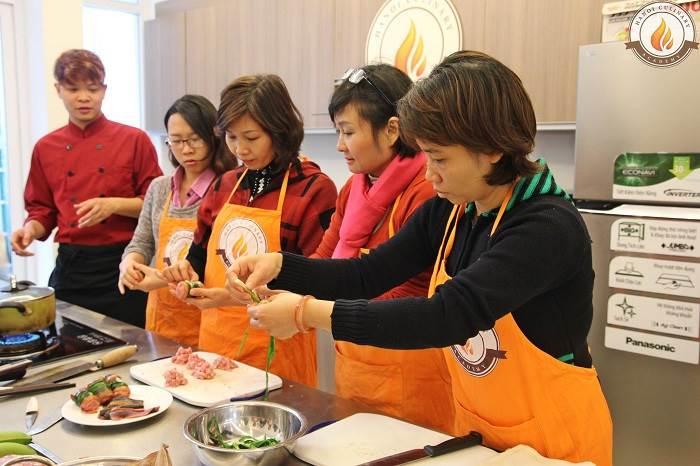 top 10 trung tâm dạy nấu ăn uy tín nhất ở Hà Nội