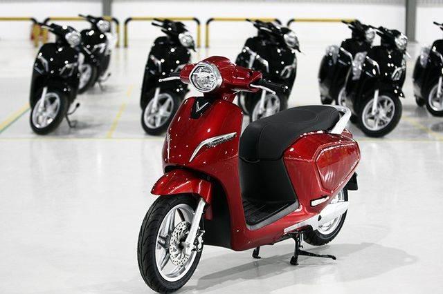 Xe máy điện VinFast Klara kiểu dáng gọn nhẹ tinh tế