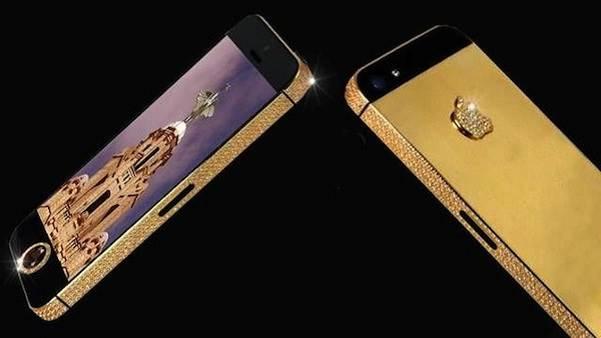 điện thoại đắt giá nhất thế giới- iPhone 5 Black Diamond
