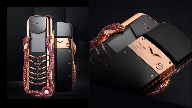 Chiếc điện thoại đắt giá nhất thế giới - Vertu Signature Cobra