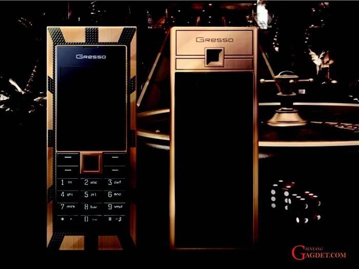 điện thoại đắt giá nhất thế giới- Gresso Luxor Las Vegas Jackpot