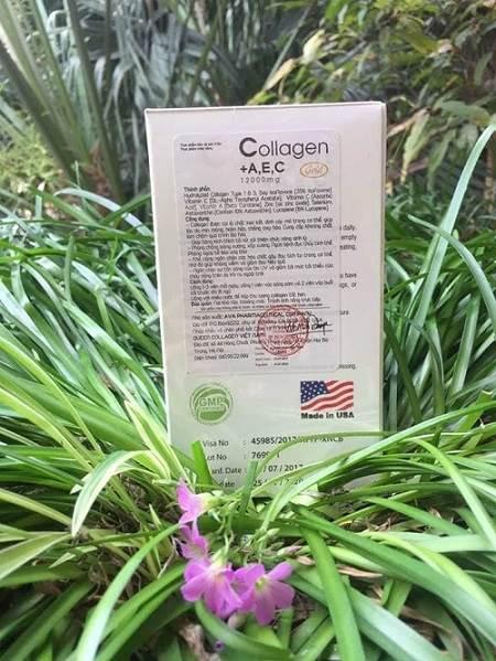 Review viên uống collagen AEC Gold của Mỹ có tốt không?