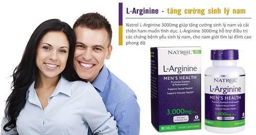 Review viên uống tăng cường sinh lý Natrol L- 3000mg có tốt không?