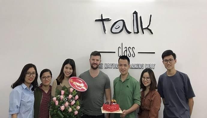 Top 10 trung tâm tiếng anh - Talk Class