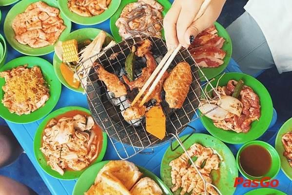 Phố lẩu nướng – đường Nguyễn Thái Học