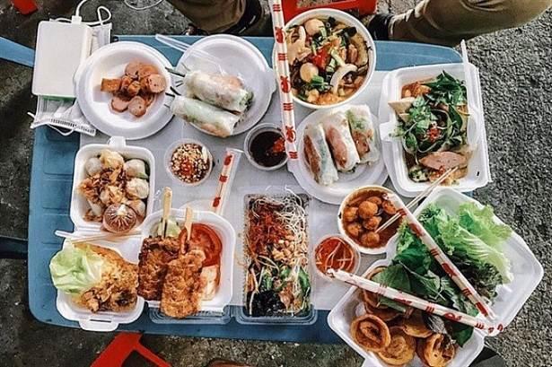 Top 6 con phố ẩm thực Phố ăn vặt – đường Bồ Xuyên