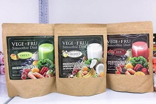 Vege Fru Smoothie Diet Nhật Bản giúp giảm cân đẹp da