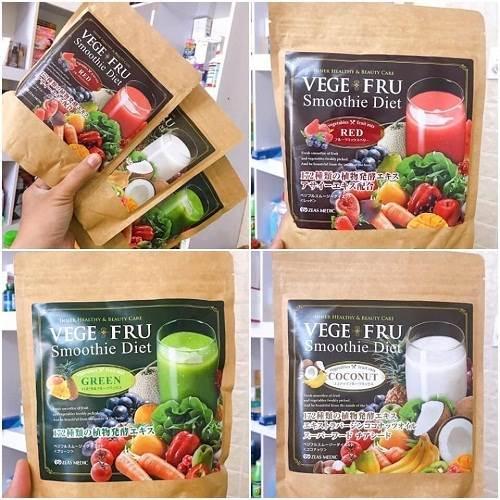 Bột rau củ quả giảm cân có nhiều hương vị để bạn chọn lựa