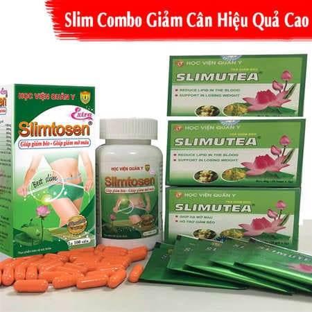 Slimtosen và Slimutea giảm cân lấy lại vóc dáng thon gọn cân đối