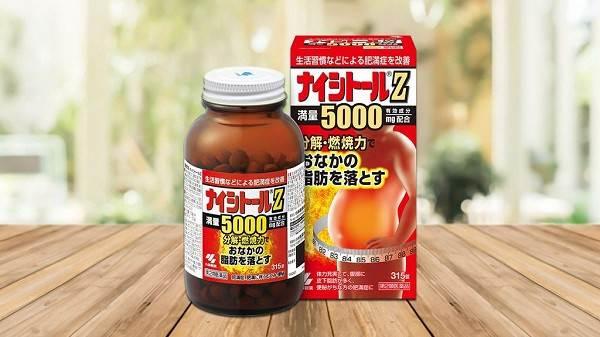 Review viên uống giảm mỡ bụng Naishitoru Z
