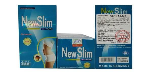Review viên uống giảm cân New Slim 40 viên