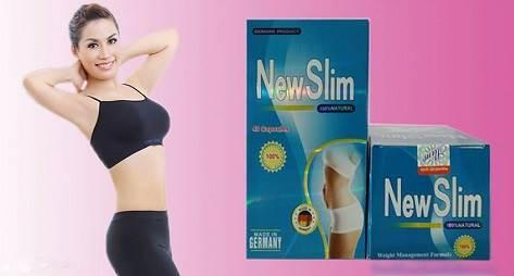 viên uống giảm cân New Slim 40 viên