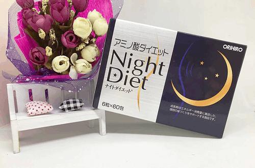 review Orihiro Night Diet của Nhật