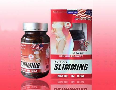 Gold Slimming được đánh giá cao về công dụng giảm cân