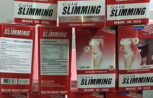 Hộp viên giảm cân Slimming - Đốt cháy mỡ thừa nhanh chóng