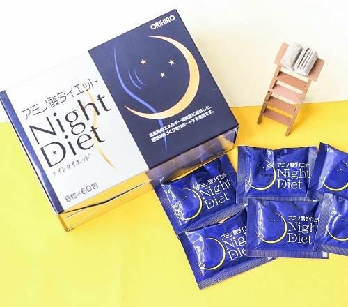 Viên uống giảm cân Orihiro Night Diet xuất xứ từ Nhật Bản