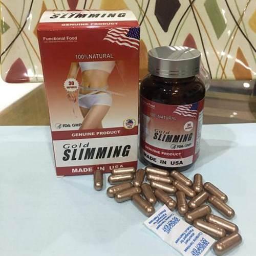 Viên giảm cân Gold Slimming có tốt không?