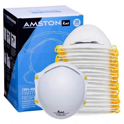 Khẩu trang AMSTON N95 Disposable & Foldable Dust Masks