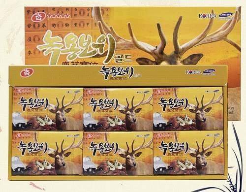 Nước hồng sâm nhung hươu Hàn Quốc Gyeongbuk